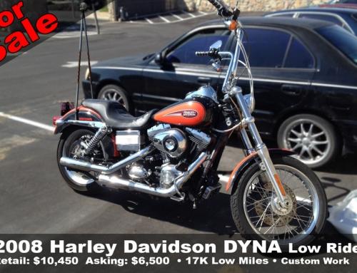 SOLD: 2008 Harley Davidson