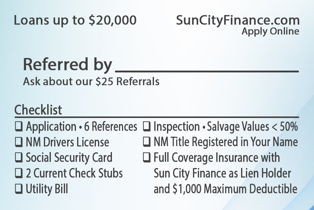 Requirements for a Qualified Loan